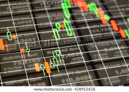 Finance background. Finance business background. Finance Forex background. Finance background numbers. Finance concept background. Abstract finance. Finance chart market. Finance market background - stock photo