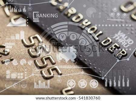 Finance charts and credit card