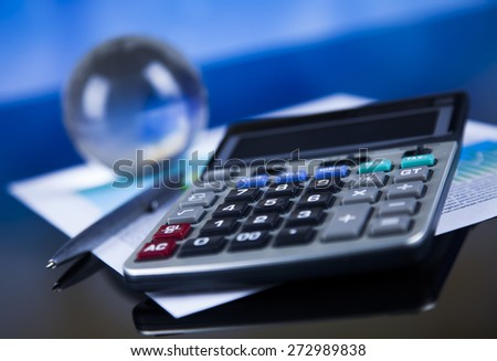 Finance concept, Percent, natural colorful tone