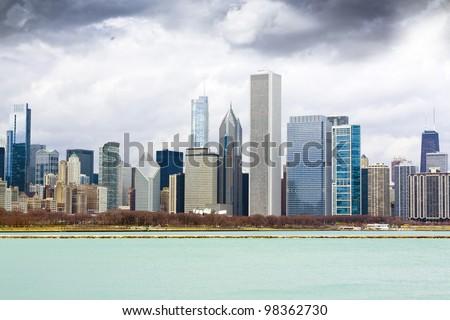 Finance District - stock photo