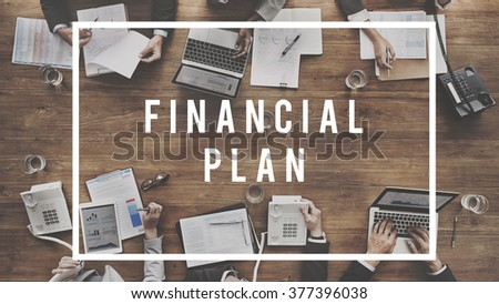 Finance Financial Budget Accounting Money Concept - stock photo