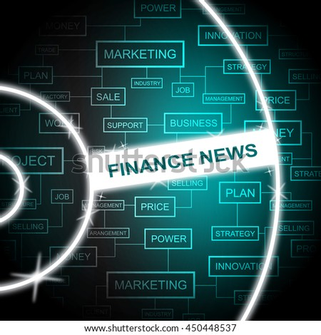 Finance News Meaning Social Media And Information