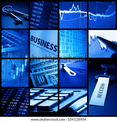 Finance system concept. - stock photo