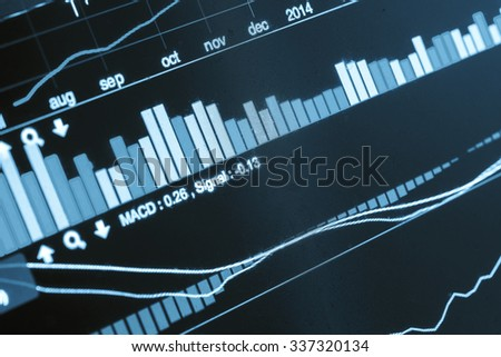 Financeial concept ; Planing to investment - stock photo