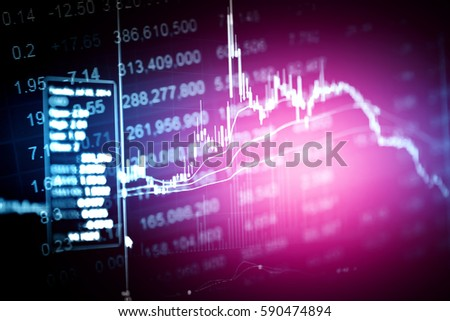 Financial accounting of profit summary graphs analysis. The business plan at the meeting and analyze financial numbers to view the performance of the company.