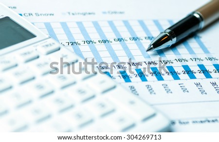 financial analysis concept