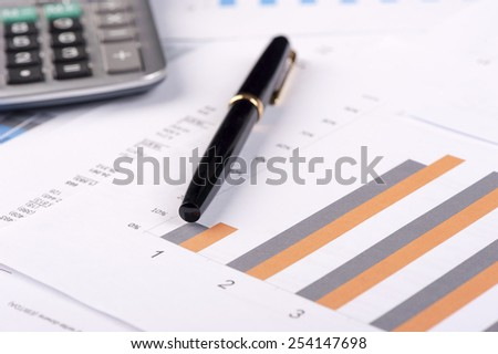Financial balance. - stock photo