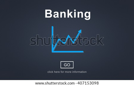 Financial Banking Currency Chart Business Concept - stock photo