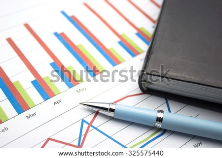 financial chart report