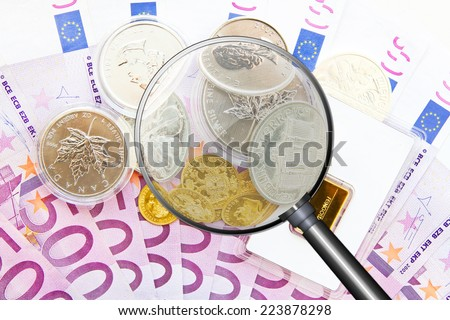 Financial consulting - stock photo