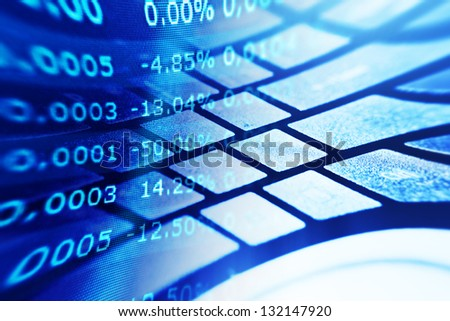 how to get financial data code