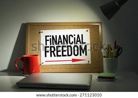 Financial Freedom - stock photo