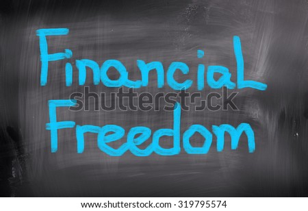 Financial Freedom Concept