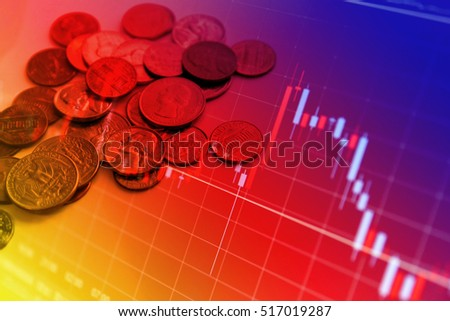 Financial graphs and Coin