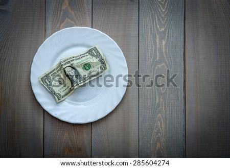 Financial hunger. Concept photo - stock photo