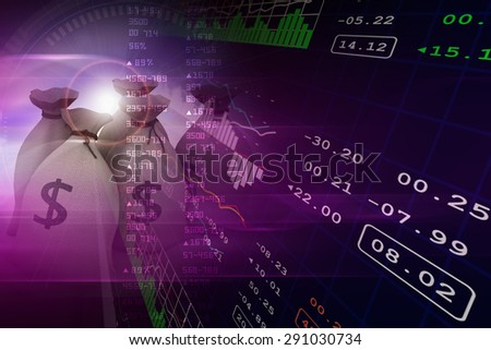 Financial inflation - stock photo