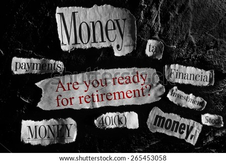 Financial news items and retirement question