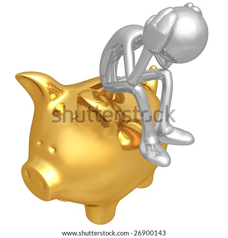 Financial Problem - stock photo