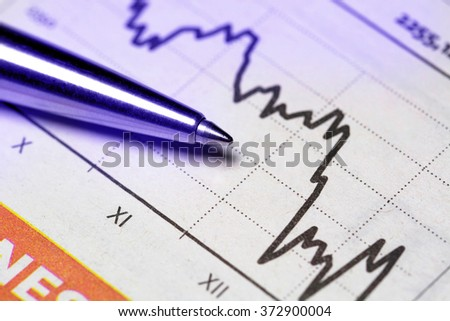 Financial report concept  - stock photo