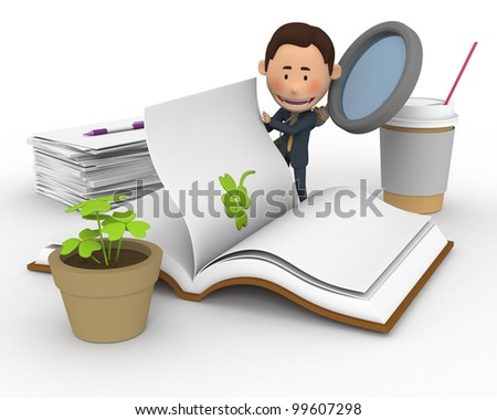 Find a man who(2) - stock photo