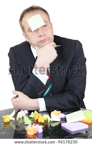 Find a solution - stock photo