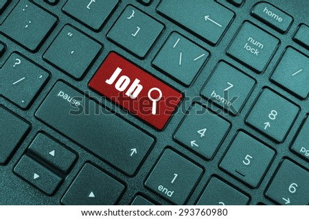 Find job button on laptop keyboard