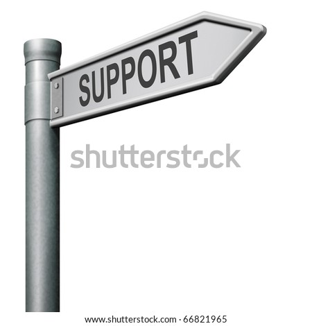 find support in help desk or online assistance support button or support icon - stock photo