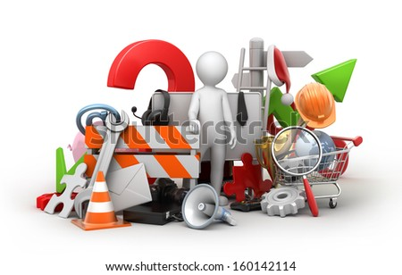 find the thing, high detailed image with a work path - stock photo