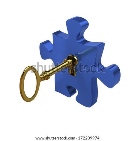 Finding solutions - stock photo