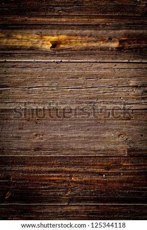 Fine texture of wooden planks - stock photo