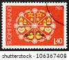 FINLAND - CIRCA 1988: a stamp printed in the Finland shows Christmas Design, circa 1988 - stock photo