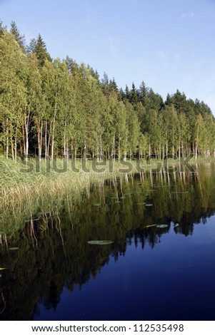 finland/views/ - stock photo