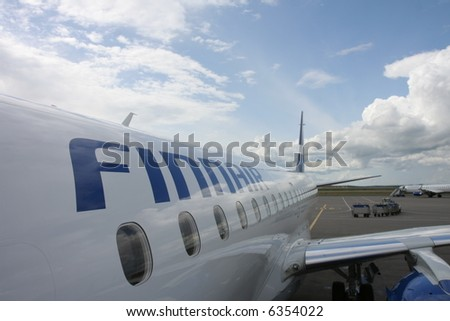 Finnair owned Airbus A320-200