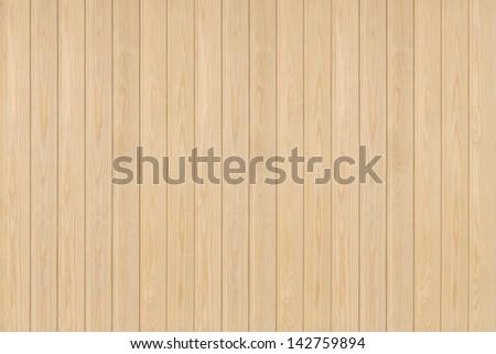 Finnish pine wood paneling. - stock photo