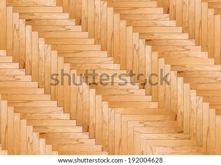 fir parquet flooring model for your interior design, beautiful wooden texture - stock photo