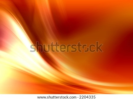 fire abstract composition - stock photo