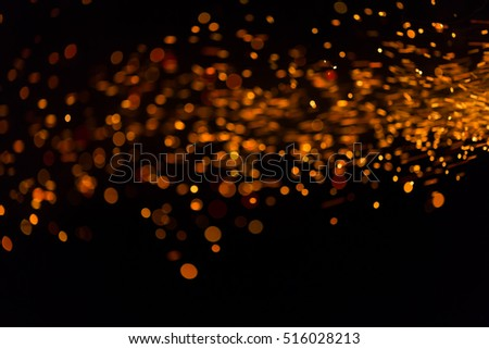 Fire bokeh motion background, Explosion of fire for bokeh background for montage your job image retouch or blur effect.