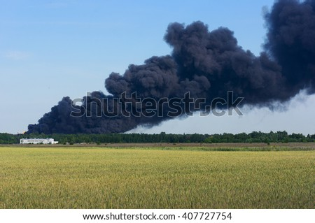 Fire emergency - stock photo