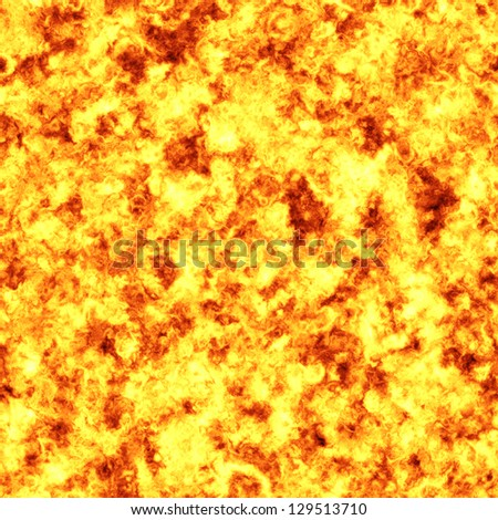 Fire explosion background tile pattern