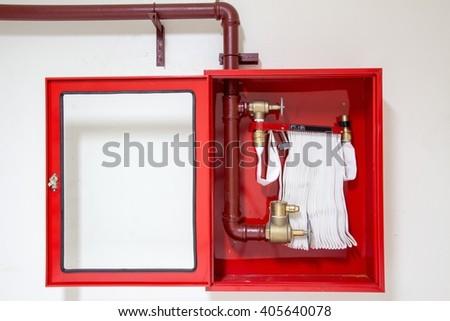Fire fighting equipment - stock photo