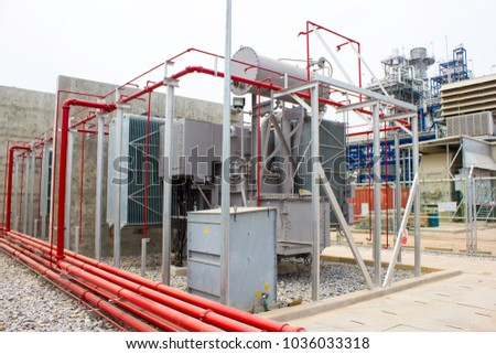 Fire Fighting for Oil Immersed Transformer