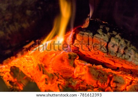 how to change the colour of embers fire