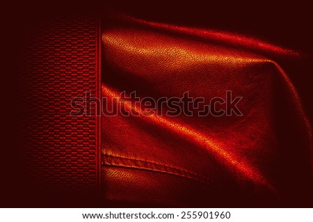 fire leather background or texture - stock photo