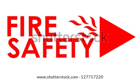 Fire safety - stock photo