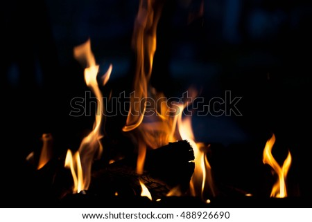 Fire. The concept of nature.