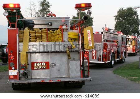 Firetrucks - stock photo