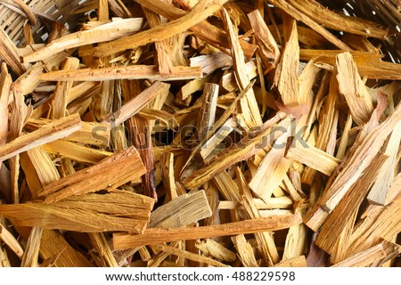 firewood pile of wood