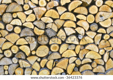 firewood slicing
