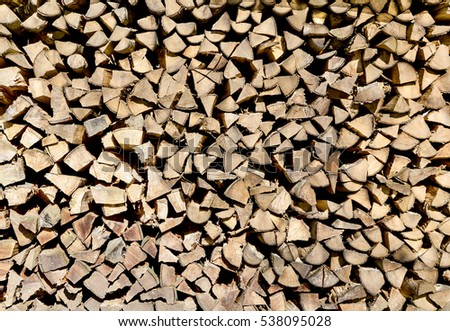 Firewood - Stacked