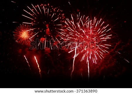 Fireworks colorful backgrounds